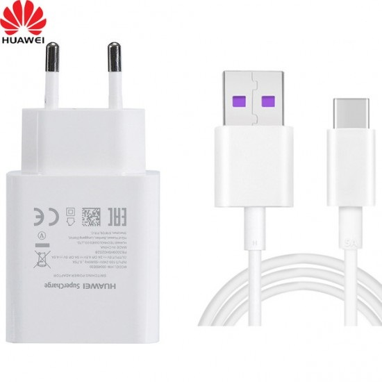 60ce9bb2f59 Huawei® Cargador (Adaptador) de pared con cable Tipo C SEC - PC digital